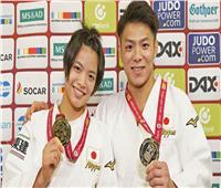 أولمبياد طوكيو 2020.. اليابانيان أوتا وهيفومي آبي يفوزان بالميدالية الذهبية للجودو
