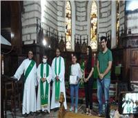 الكنيسة الأسقفية بالإسكندرية تحتفل بتخريج دفعة من مدرسة العزف والتسبيح