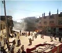 تفاصيل انفجار 7 أسطوانات بوتاجاز في قنا