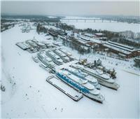 ننشر فيديو وصور مقبرة السفن في روسيا