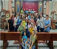 كنيسة جرجا تختتم شهر الخدمة الكرنفالية تحت شعار «معًا نسير»