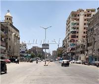 حملة إشغالات ونظافة على الشوارع الحيوية بحي شمال الجيزة