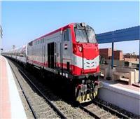 حركة القطارات   35 دقيقة متوسط التأخيرات بين بنها وبورسعيد