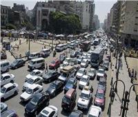 كثافات مرروية بشوارع الجيزة في الدورة الصباحية