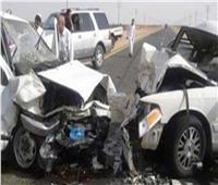 إصابة 3 أشخاص في حادث تصادم ببني سويف