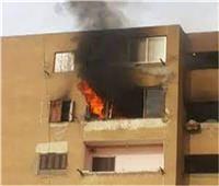 نيابة المنيا تعاين موقع حريق بوحدتين سكنيتين بمغاغة