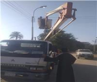 حملات مرورية علي الطرق بالمنيا حفاظًا على سلامة المواطنين
