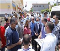 محافظ دمياط تتابع الموقف التنفيذي لمشروعات قرى «حياة كريمة»