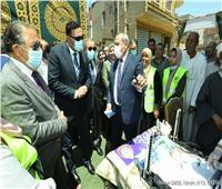 محافظ الدقهلية يدشن القافلة الطبية المجانية بقرية نوسا الغيط بمركزأجا