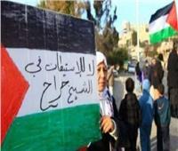 اعتصام في حي الشيخ جراح بالقدس والاحتلال يعتقل شابًا