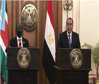رئيس الوزراء: ندعم جهود الأشقاء في جنوب السودان لتحقيق السلام في البلاد