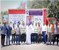 زعيم «أغلبية النواب» يدشن مبادرة للتبرع بالدم لمرضى الأورام في قنا