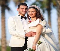 كهربا وأفشة وشريف وأعضاء الأهلي يحضرون زفاف حمدي فتحي   صور