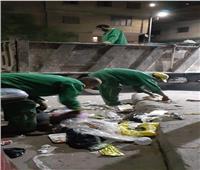 رفع 15 طن قمامة من شوارع الباجور في المنوفية | صور