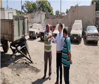 استمرار حملات رفع الإشغالات في قرى ومراكز المنيا