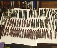 ضبط 37 قطعة سلاح ناري بحوزة 26 متهما في حملات أمنية خلال 24 ساعة