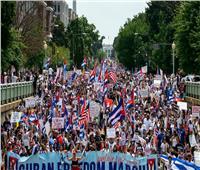 """المئات يتظاهرون في واشنطن للمطالبة بـ""""الحرية لكوبا"""""""
