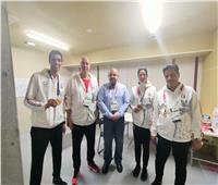 بعد تحقيق برونزيتين.. منتخب التايكوندو يعود إلى القاهرة