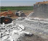 محافظة المنيا تواصل حملات إزالة التعديات على الأراضي الزراعية وأملاك الدولة