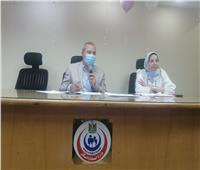 وكيل «صحة الدقهلية» يتابع مستجدات تفعيل برنامج الزمالة المصرية