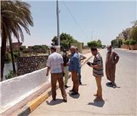 افتتاح طريق مغلق منذ 2011 بعد مطالب من أهالي المنيا