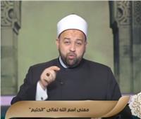 الشيخ يسري عزام يوضح معنى اسم الله «الحليم»  فيديو