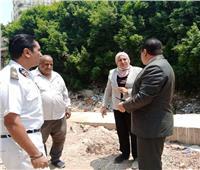 نائب محافظ القاهرة تقود حملة نظافة في ٤ أحياء وتوجه إنذارا للمخالفين