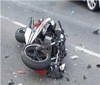 إصابة شخصين في حادث دراجة بخارية  بالمنيا