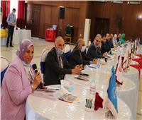 مجلس جامعة المنوفية يعقد جلسة استعداد الكليات لأداء اختبار القدرات