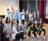 جامعة بنى سويف تحصد المركز الأول للألعاب الجماعية في بطولة «سبورت فيت»