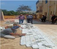 الانتهاء من إنشاء المدرسة الثانوية بعرب الرمل في قويسنا