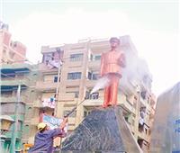 فى مسقط رأسه بكفر الزيات.. تمثال أول رئيس لمصر يتجمل