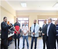 «رئيس الدلتا التكنولوجية» يتابع استعدادات الجامعة لبداية العام الدراسي الجديد