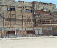 تجهيز مسار طريق الكباش وطلاء واجهات المباني المحيطة به بـ«الأقصر»