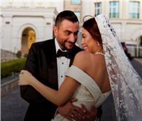 فيديو وصور  هاجر أحمد تحتفل بزفافها على أحمد الحداد
