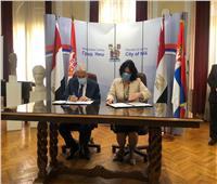 خالد فودة يبحث تنشيط السياحة مع رئيسة وزراء صربيا