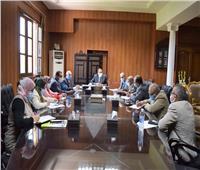 رئيس جامعة بنى سويف يوجه ببدء ميكنة قطاع الدراسات العليا