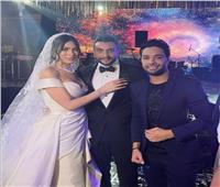 أحمد جمال يُحيي زفاف «هاجر أحمد»