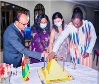 السفارة المصرية في «واجودوجو» تحتفل بذكرى ثورة 23 يوليو