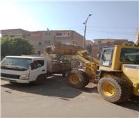 رفع 35 طن مخلفات وأتربة من قرى المنيا