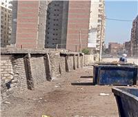 رفع 65 طن مخلفات تم نقلها إلي الظهير الصحراوي بـ«المنيا»