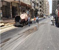 تطوير شارع الثلاثيني الجديد في الطالبية بالجيزة.. صور