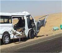 بالأسماء| إصابة 17 شخص في انقلاب ميكروباص بطريق الشيخ فضل رأس غارب