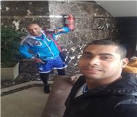 محمد إيهاب يدعم عرابي بعد وداعه للأولمبياد