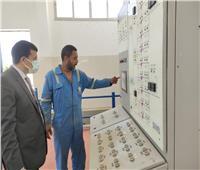 بدء تشغيل مشروع عنبر الطلمبات لرافع مياه «بهيج» في برج العرب الجديدة