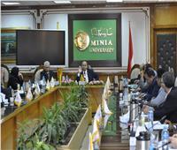 انطلاق أعمال الإنشاءات بجامعة المنيا الأهلية