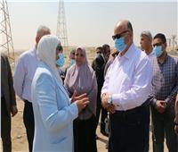 محافظ القاهرة يتفقد طريق الأوتوستراد بـ ١٥ مايو