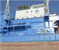 الكراكة «حسين طنطاوي» تبحر في قناة السويس