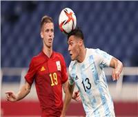 التعادل السلبي يحسم الشوط الأول من لقاء الأرجنتين وإسبانيا