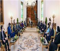سد النهضة يتصدر لقاء «السيسي» بنائب رئيس جنوب السودان
